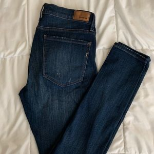 Express Dtretch Mid-rise skinny jeans